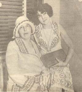 Mrs. May Otis Blackburn and her daughter