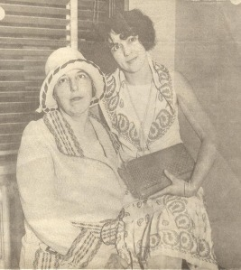 Mrs. May Otis Blackburn and her daughter