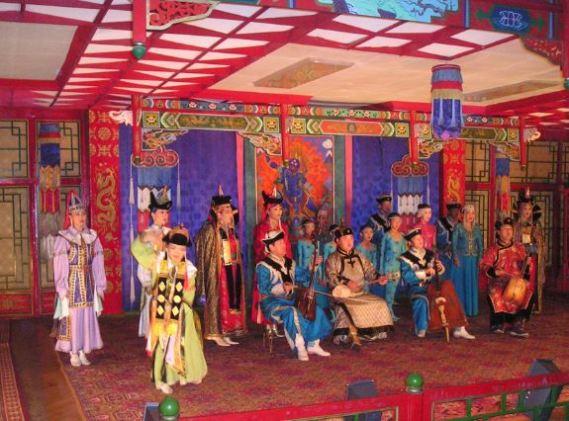 Tuvan Thraot Singers in Mongolia 2005.
